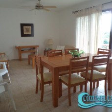 2.- Villas Mayalum - Dining room