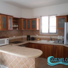 3.- Villas Mayalum - Kitchen